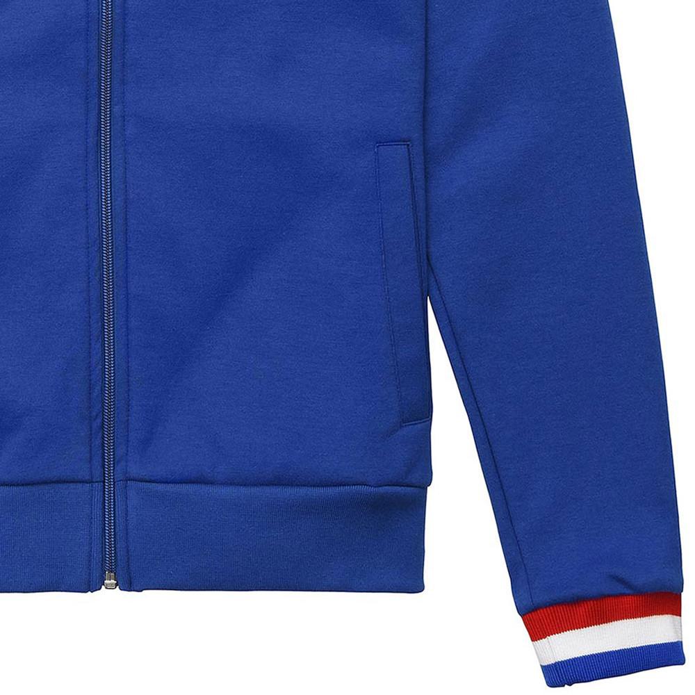 Tricolore Giacca Tuta Casual Azzurra
