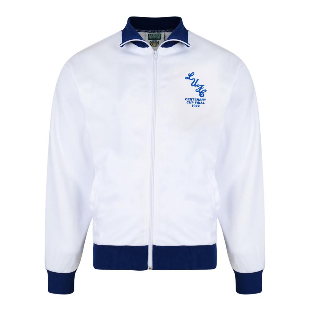 Leeds United 1971-72 Giacca Storica Calcio