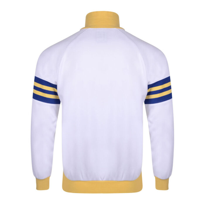 Leeds United 1977-78 Giacca Storica Calcio