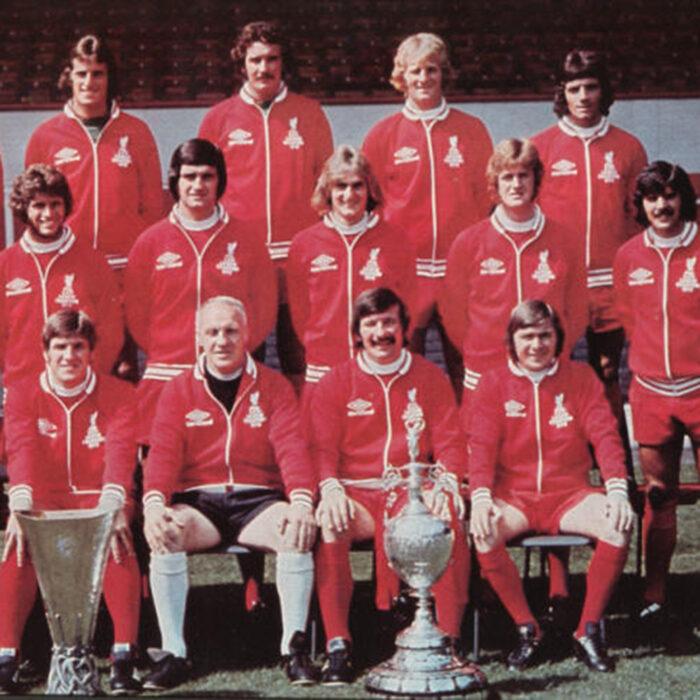 Liverpool 1972-73 Giacca Storica Calcio