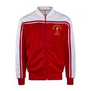 Liverpool 1980-81 Retro Football Track Top