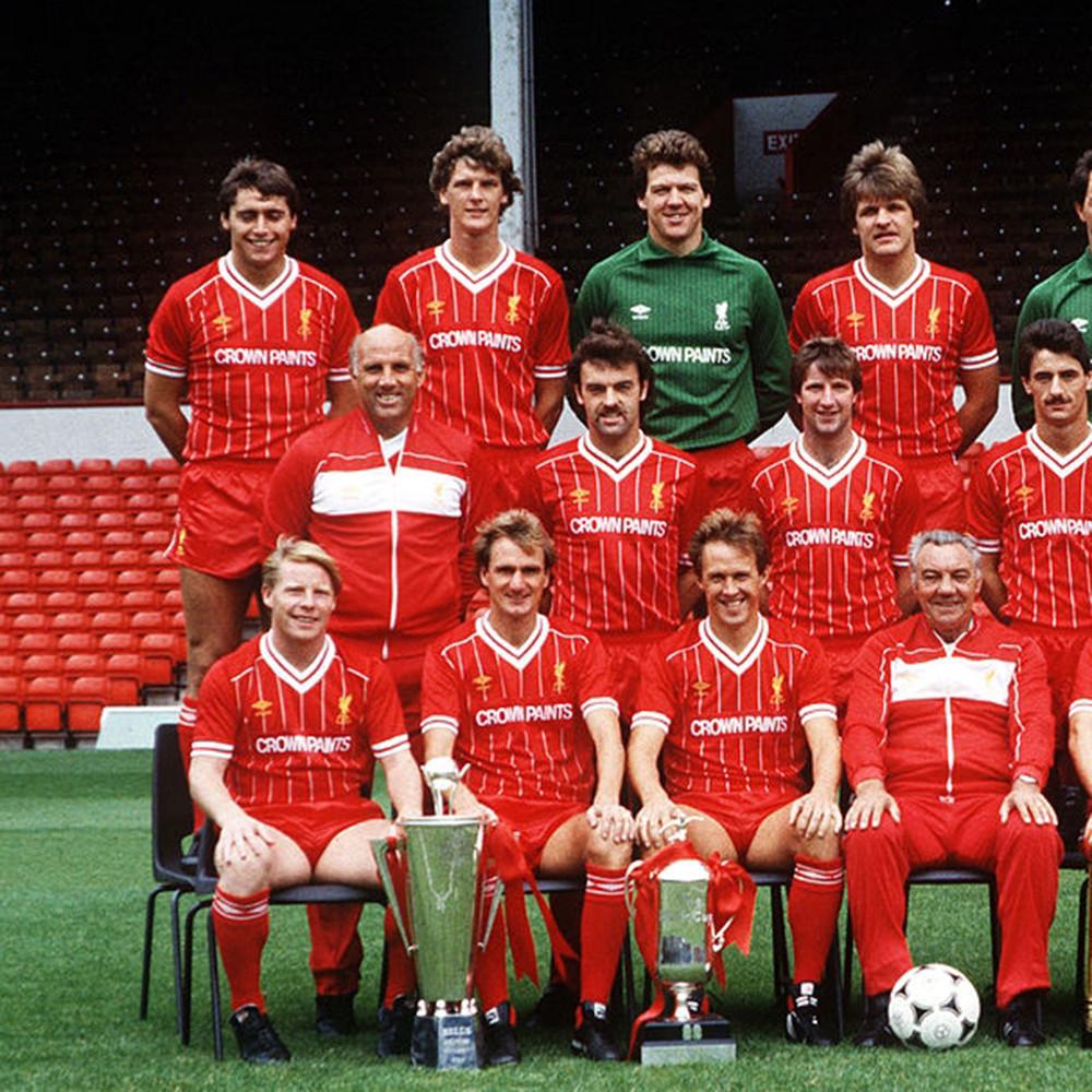 Liverpool 1984 85 Giacca Storica Calcio