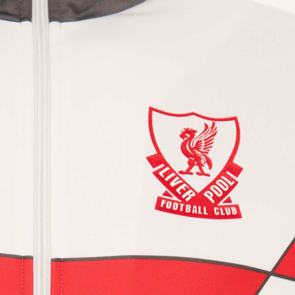 9faf8fa7a38 Liverpool 1989-90 Retro Football Track Top - Retro Football Club ®