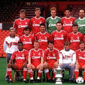Liverpool 1989-90 Giacca Storica Calcio