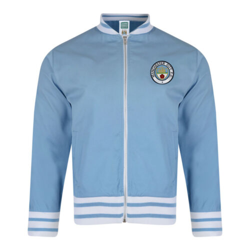 Manchester City 1972-73 Retro Football Track Top