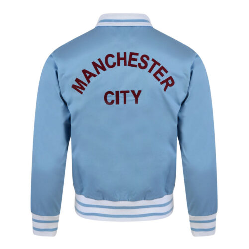 Manchester City 1972-73 Giacca Storica Calcio