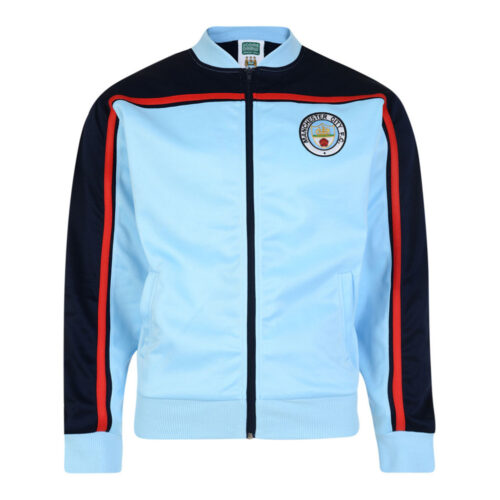 Manchester City 1980-81 Retro Football Track Top