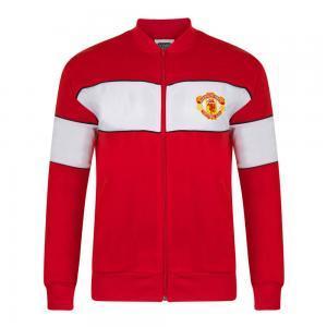 Manchester United 1984-85 Retro Football Track Top