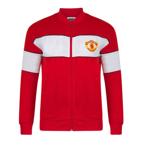 Manchester United 1984-85 Retro Football Track Top