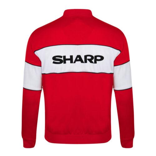 Manchester United 1984-85 Giacca Storica Calcio