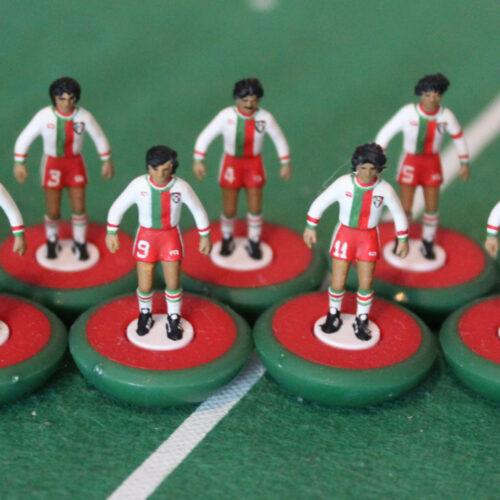 Mexico 1978 Away Subbuteo Team