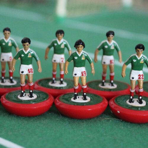 México 1986 Equipo Subbuteo