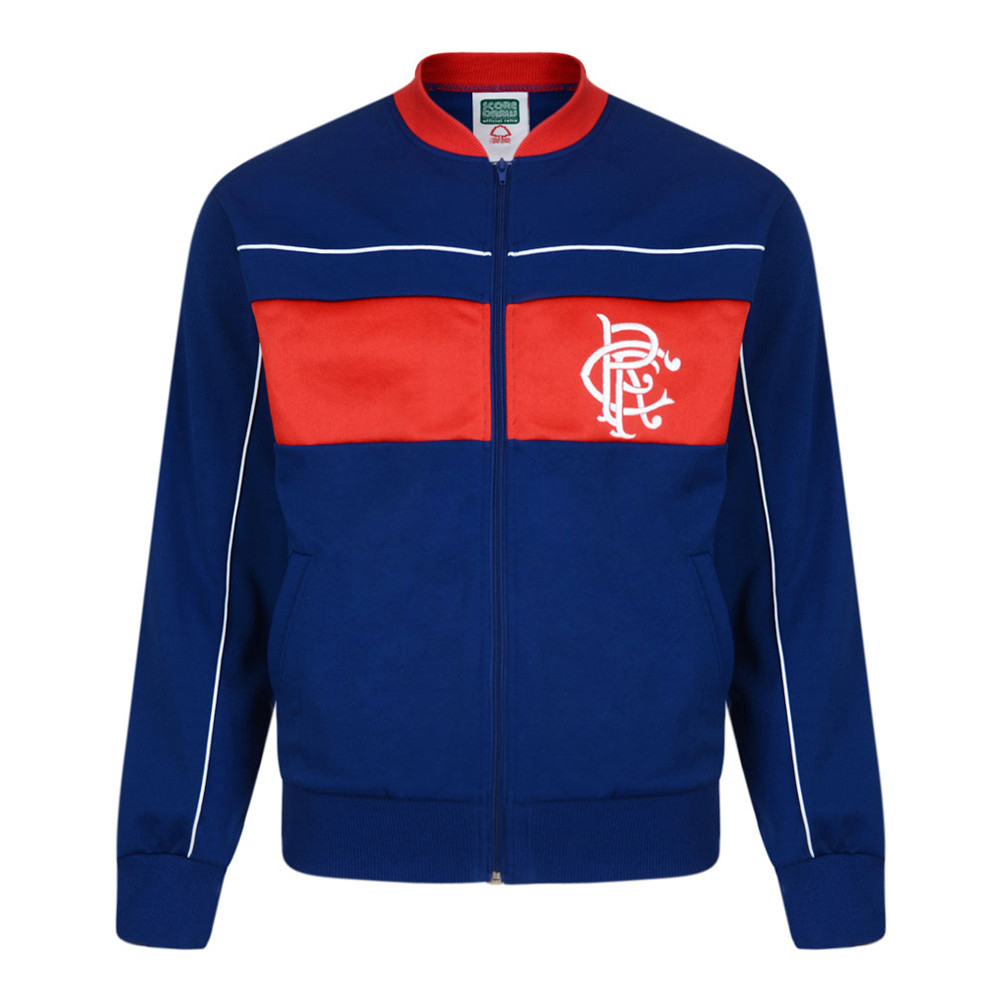 Rangers Glasgow 1983-84 Giacca Storica Calcio