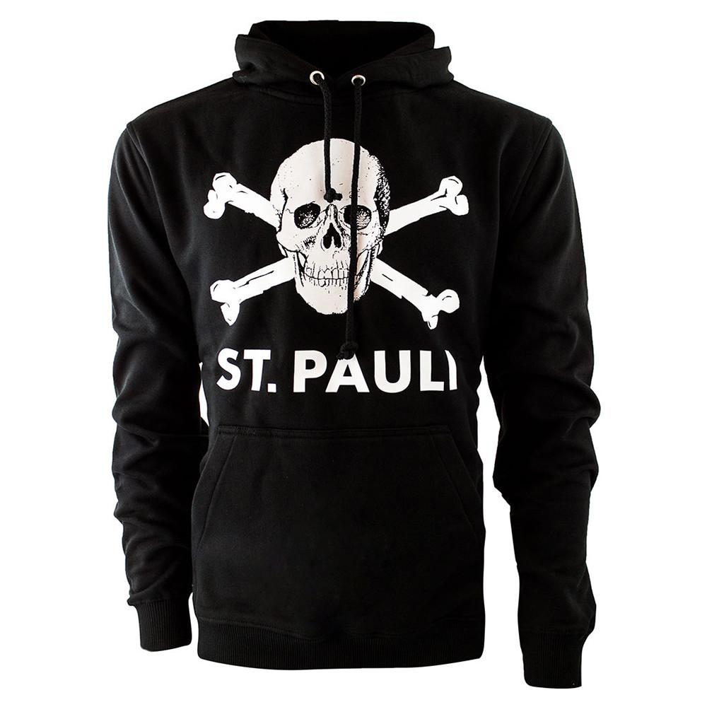 St Pauli Totenkopf Sweat Casual Noir