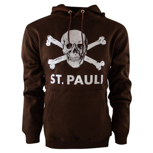 St Pauli Totenkopf Sweat Casual Marron