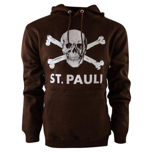St Pauli Totenkopf Sudadera Casual Marrón