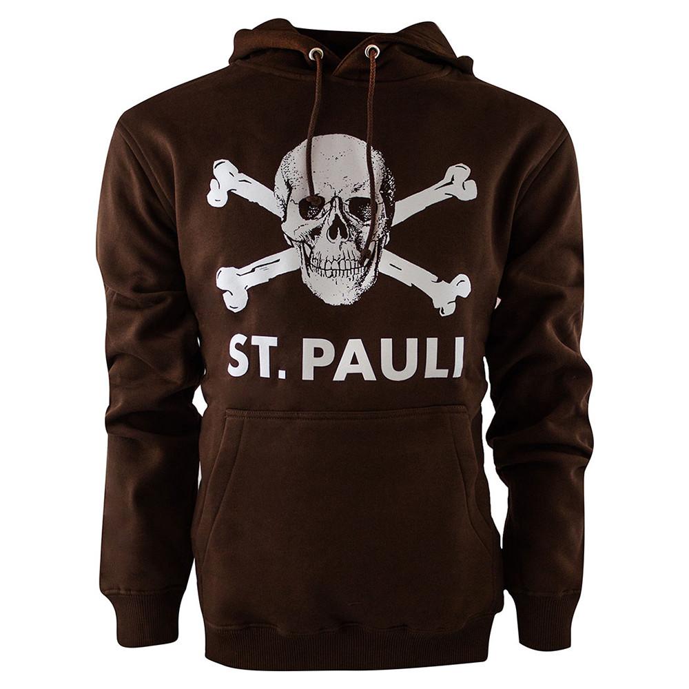 St Pauli Totenkopf Felpa Casual Marrone
