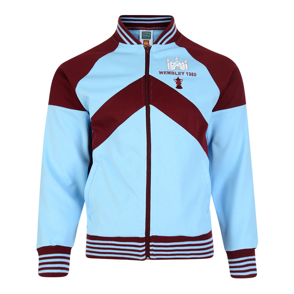 West Ham United 1979-80 Retro Football Track Top - Retro Football Club ® 3befde48c