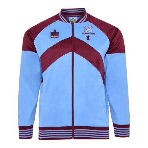 West Ham United 1979-80 Retro Football Track Top