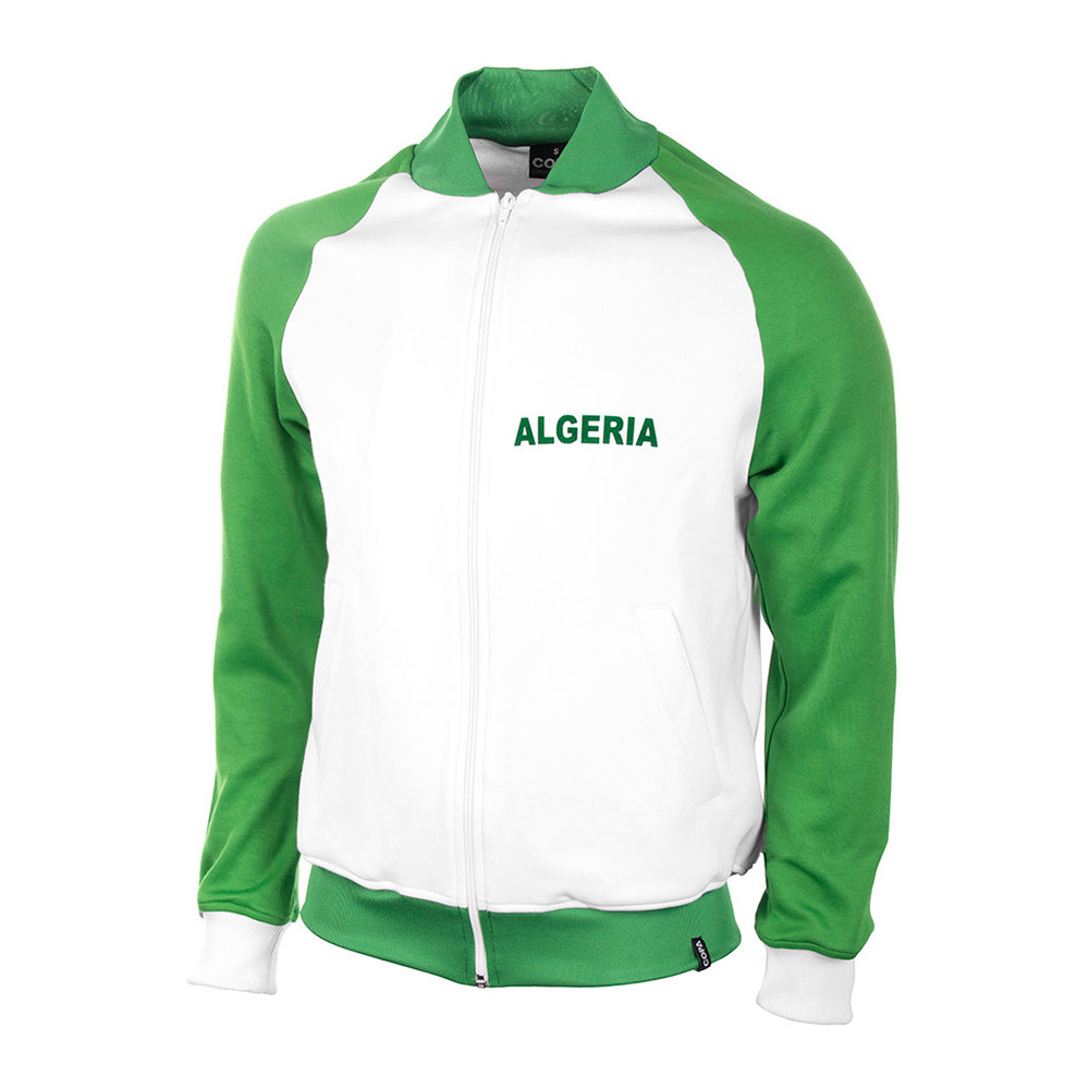 Algeria 1981 Retro Football Track Top