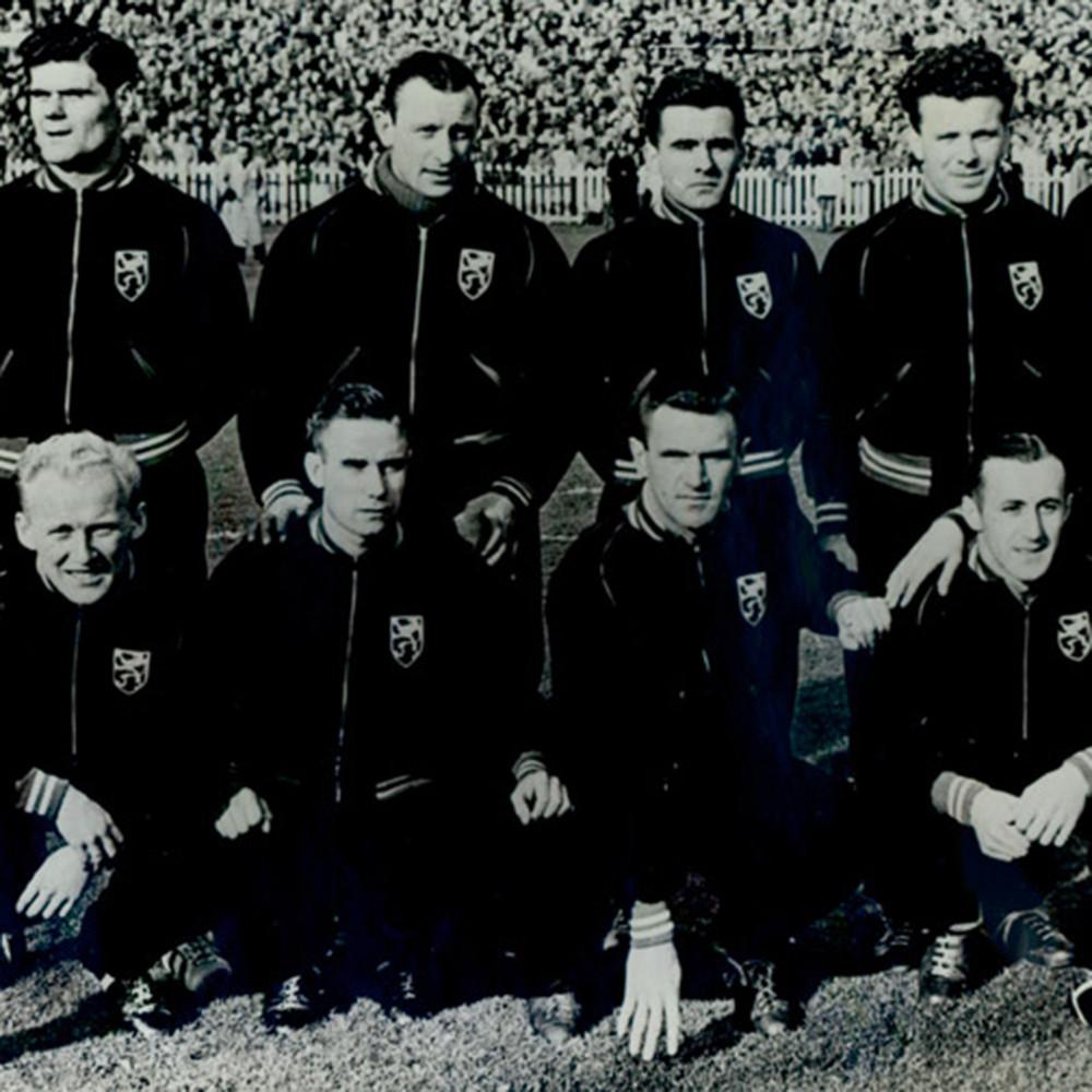 Belgio 1952 Giacca Storica Calcio