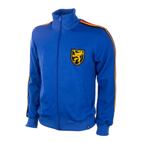 Belgium 1970 Retro Football Track Top