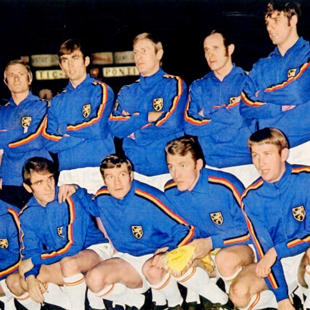 Belgio 1970 Giacca Storica Calcio