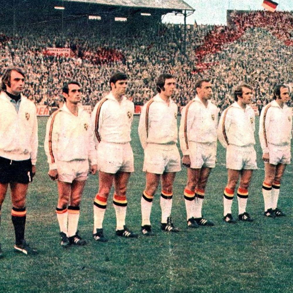 Belgio 1972 Giacca Storica Calcio
