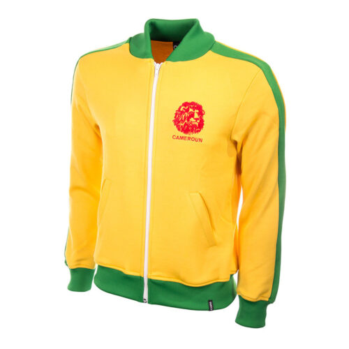 Cameroon 1984 Retro Football Track Top