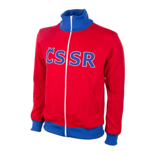 Czechoslovakia 1968 Retro Football Track Top