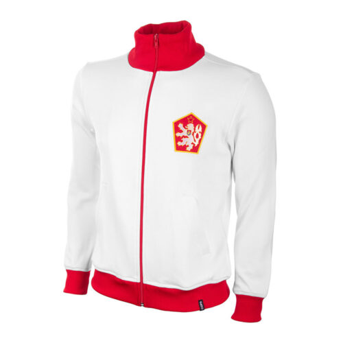 Czechoslovakia 1980 Retro Football Track Top