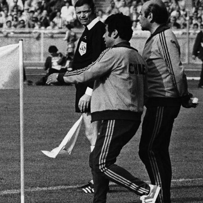 Cile 1974 Giacca Storica Calcio