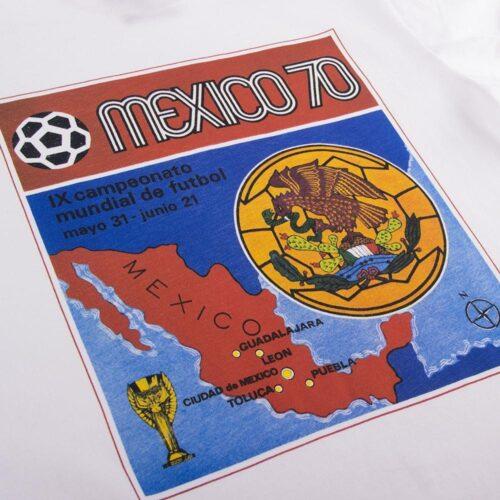 Panini Coppa del Mondo 1970 Maglietta Casual
