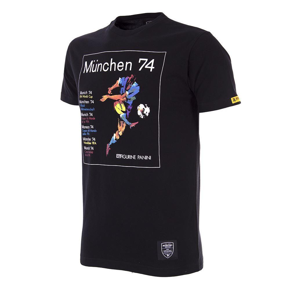 Panini Copa del Mundo 1974 Camiseta Casual