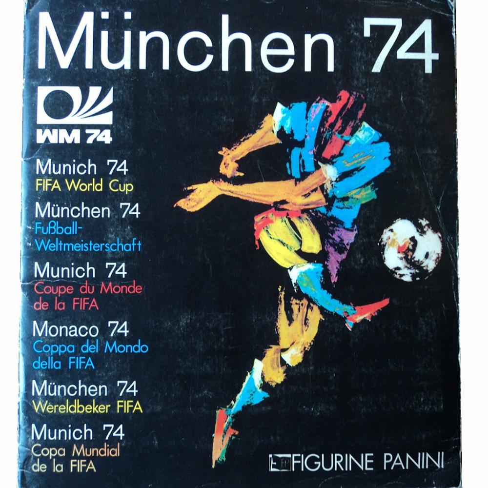 Panini Coppa del Mondo 1974 Maglietta Casual