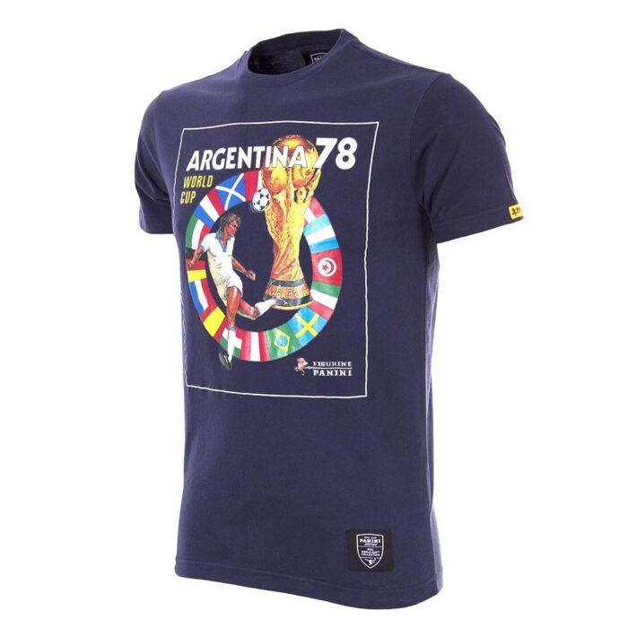 Panini Copa del Mundo 1978 Camiseta Casual