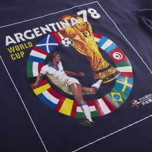 Panini Coppa del Mondo 1978 Maglietta Casual