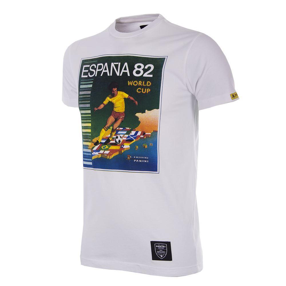 Panini Coppa del Mondo 1982 Maglietta Casual