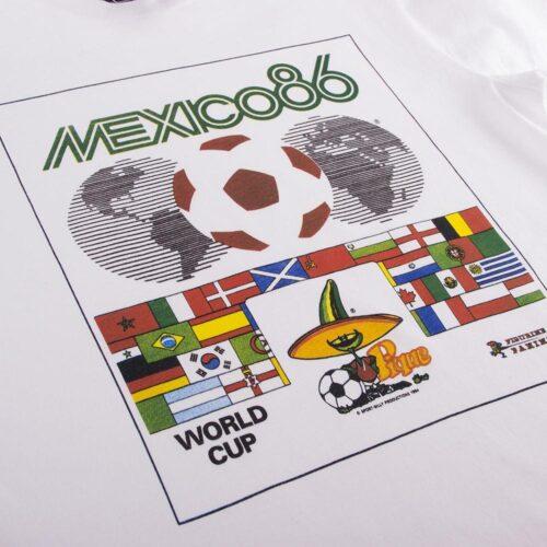 Panini Coppa del Mondo 1986 Maglietta Casual