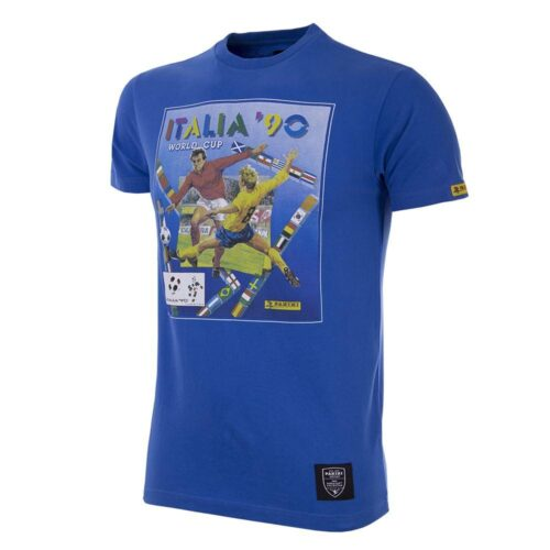 Panini Coupe du Monde 1990 Tee Shirt Casual