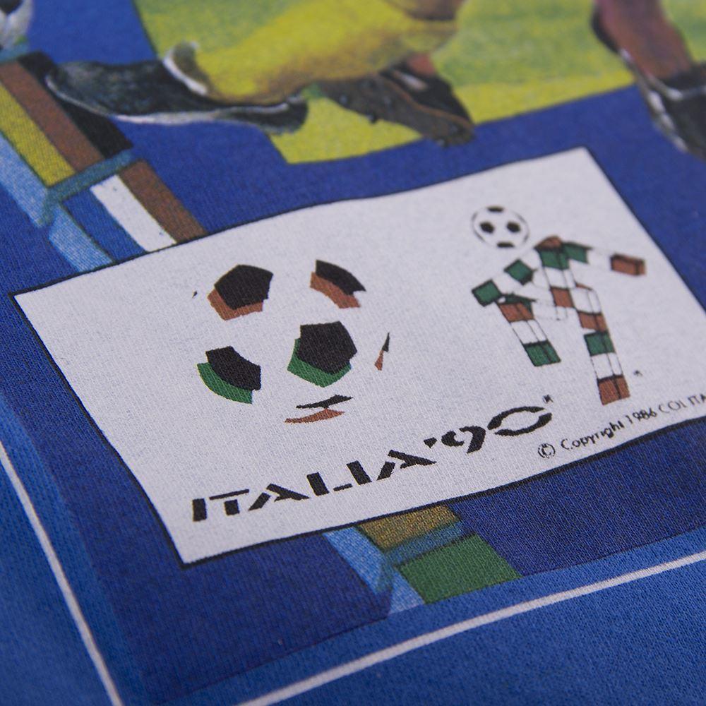 Panini Coppa del Mondo 1990 Maglietta Casual