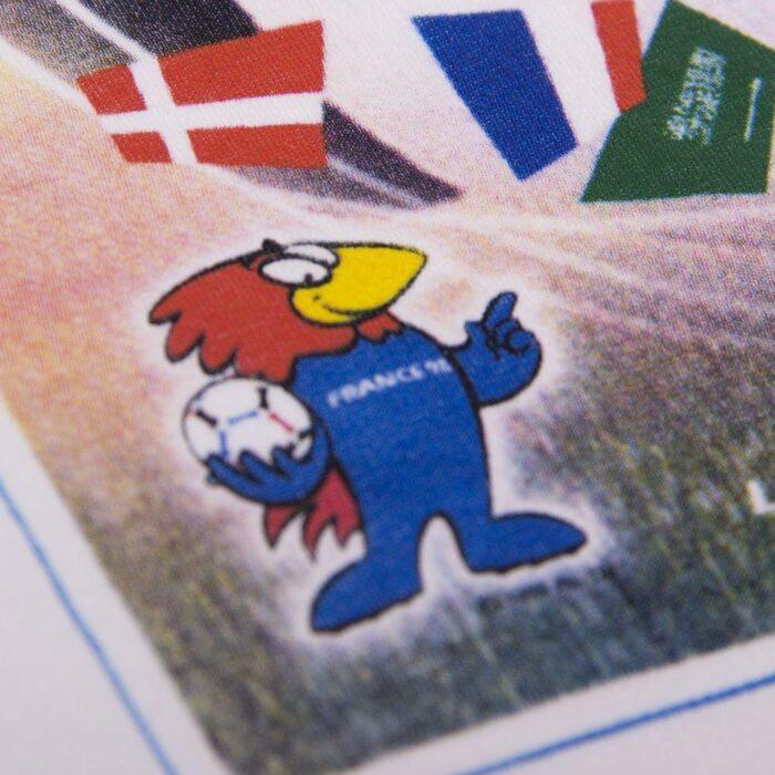 Panini Coppa del Mondo 1998 Maglietta Casual