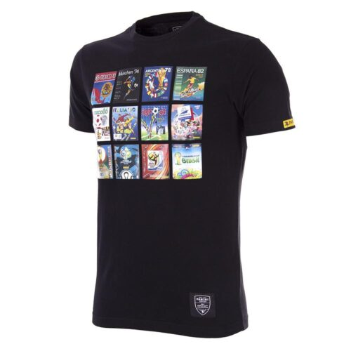 Panini World Cup Casual T-shirt Black