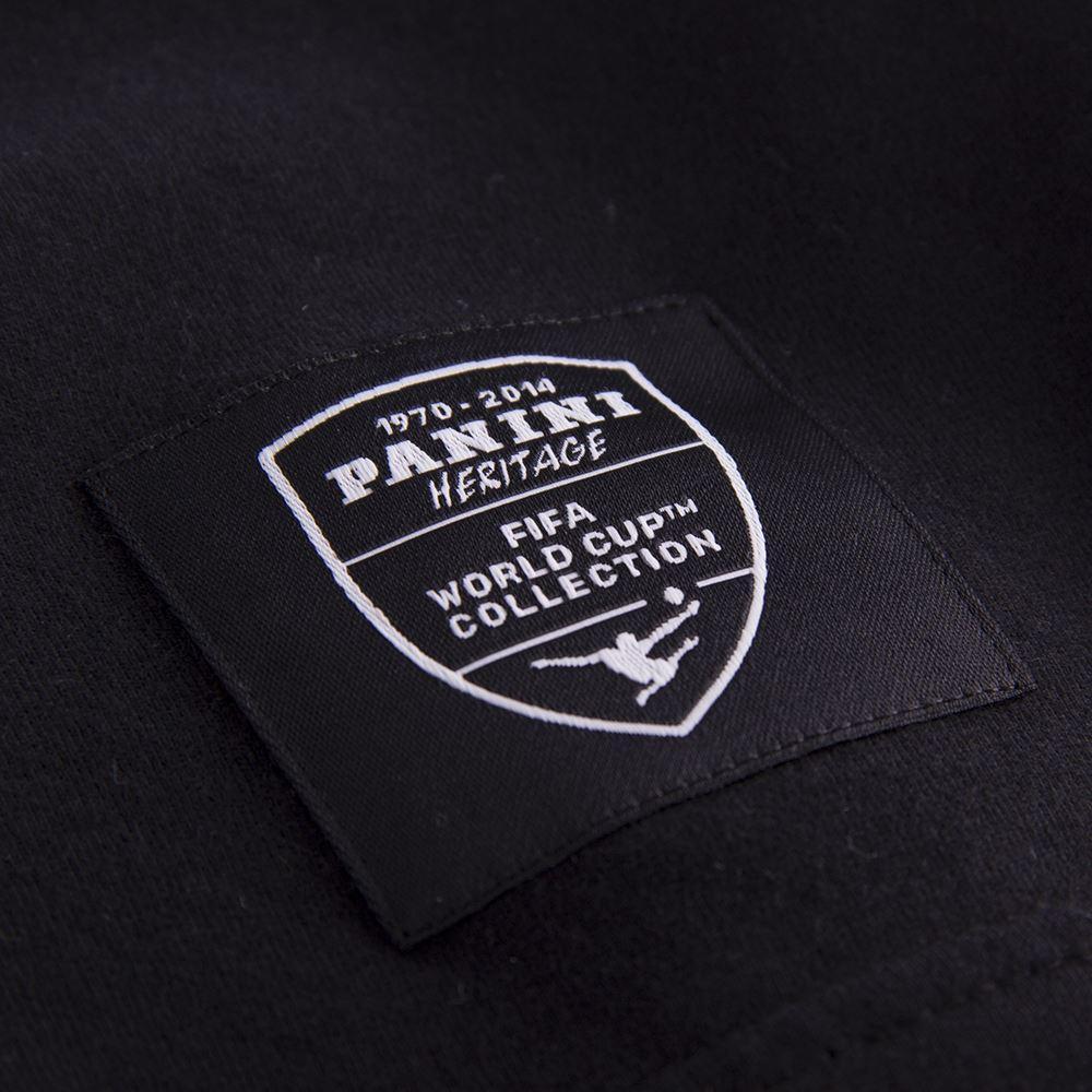 Panini Coppa del Mondo Maglietta Casual Nera