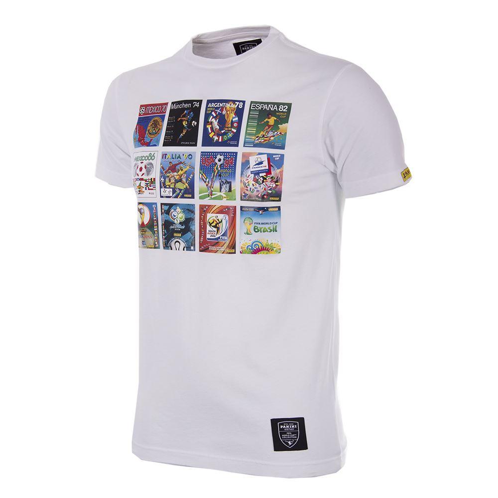 Panini Copa del Mundo Camiseta Casual Blanca