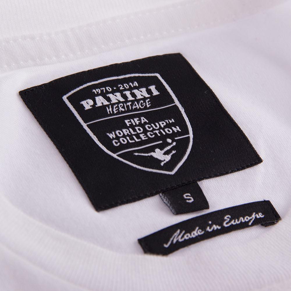 Panini Coppa del Mondo Maglietta Casual Bianca