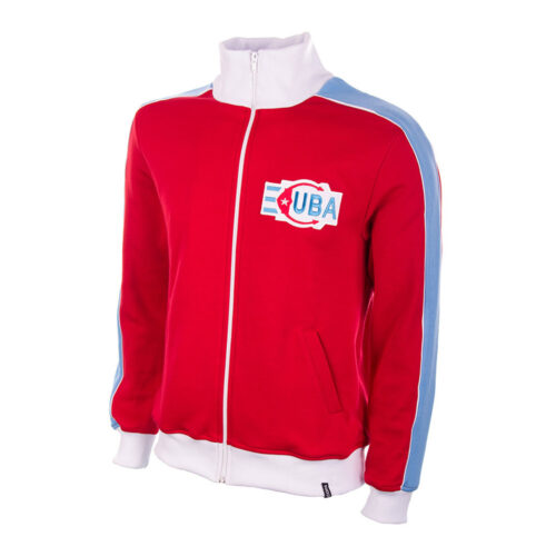 Cuba 1976 Retro Football Track Top