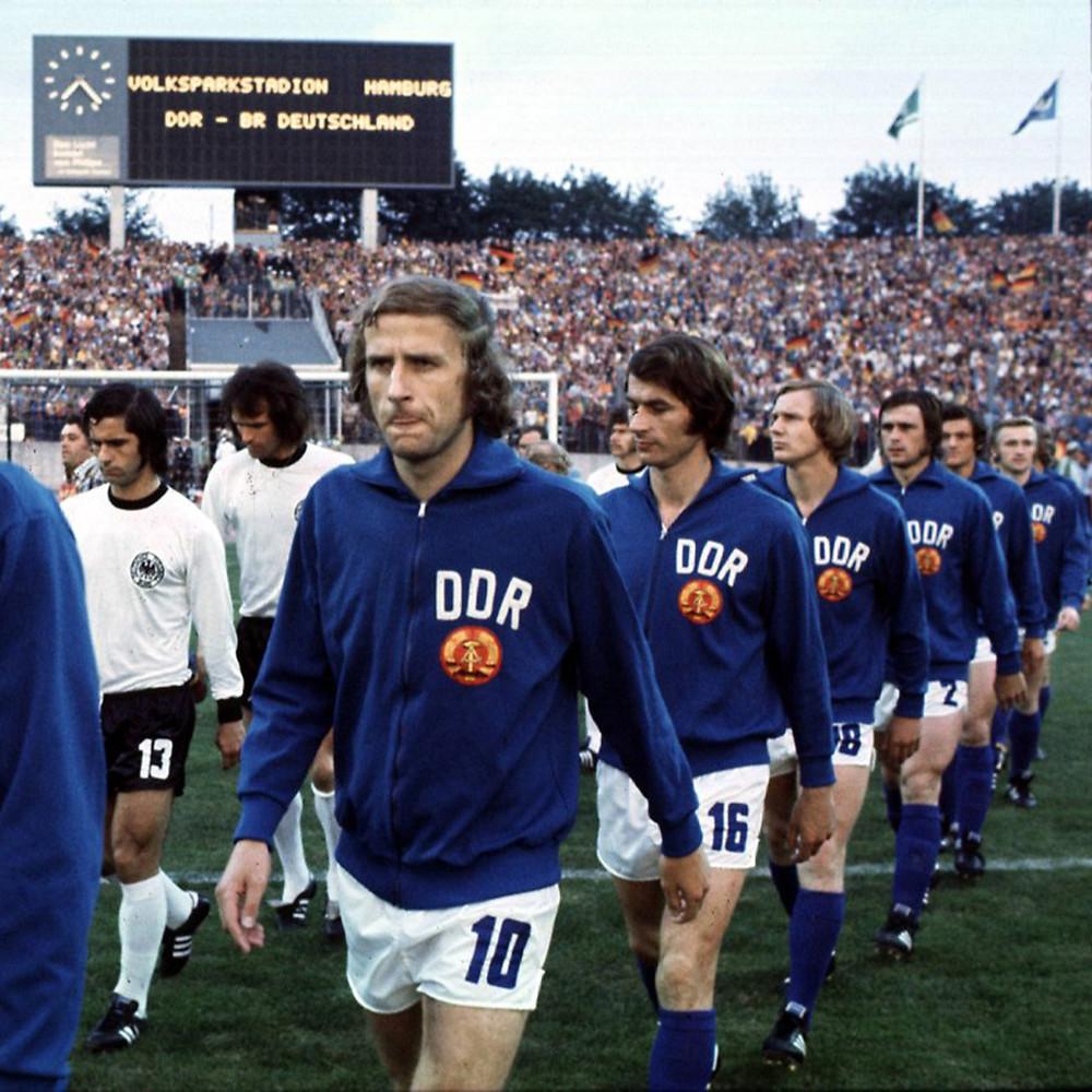 DDR 1974 Giacca Storica Calcio