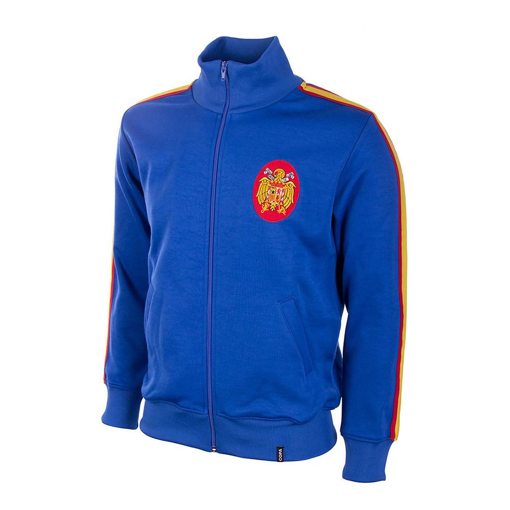 Spain 1966 Retro Football Track Top