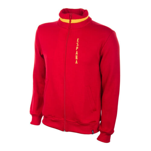 Spain 1974 Retro Football Track Top